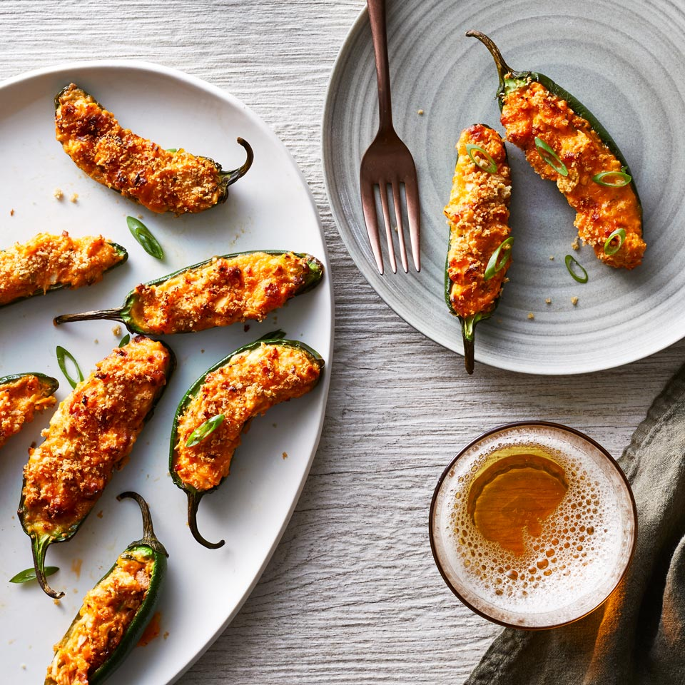 Air-Fryer Jalapeño Poppers