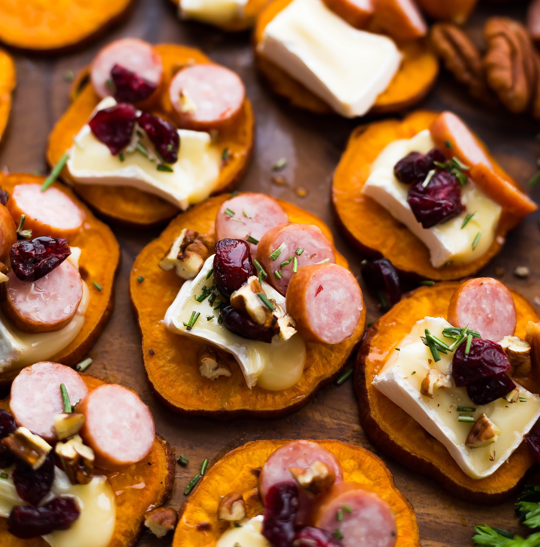 Sweet Potato Sausage Bites