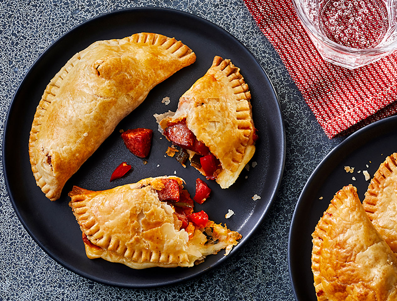 Mini Smoked Sausage and Pepper Hand Pies