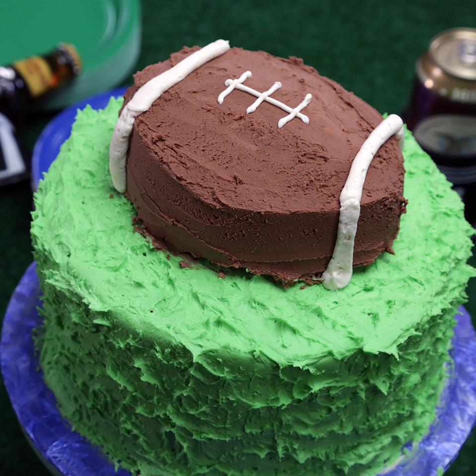 Smart Cookie Football Cake