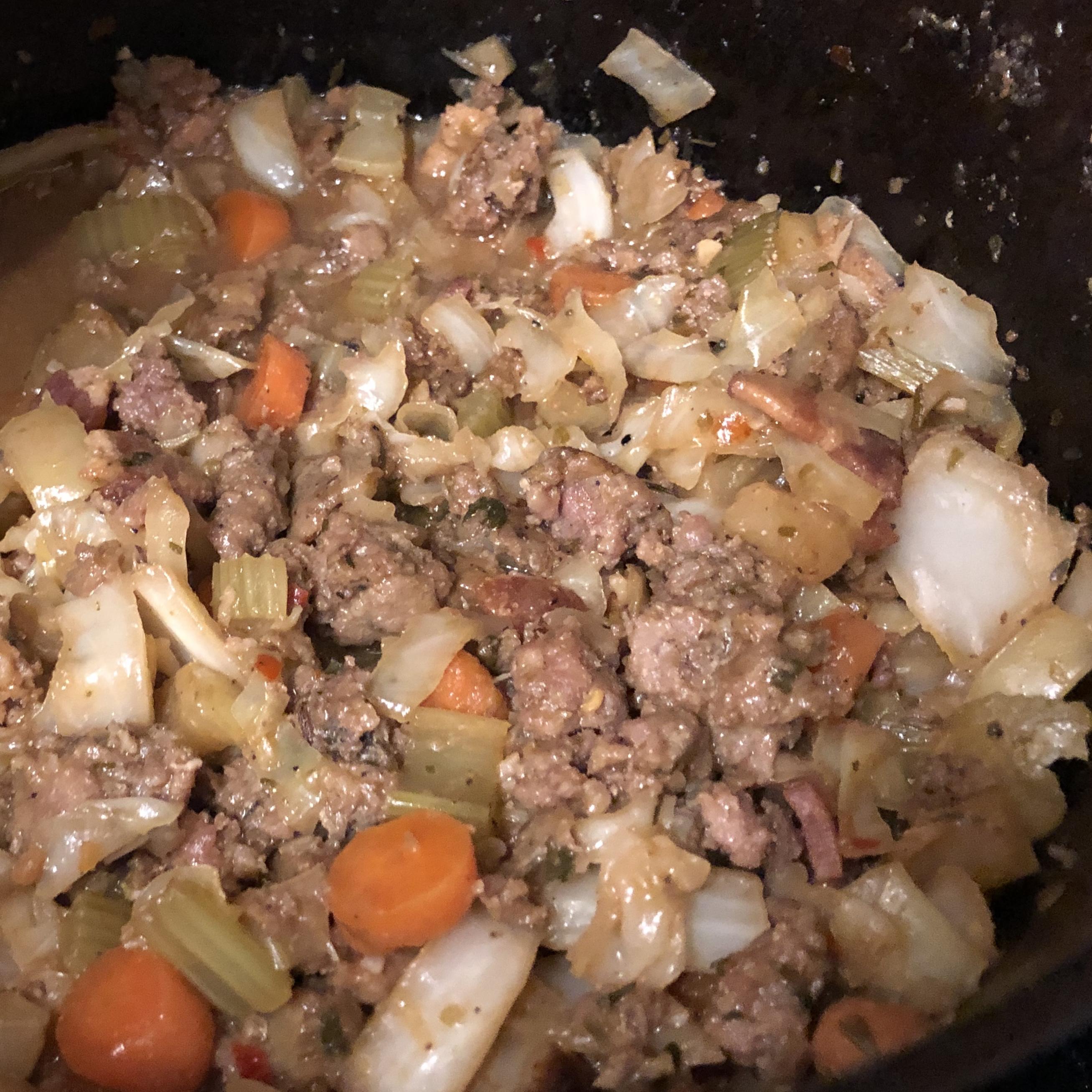 Italian Cabbage Casserole AlissaAimee