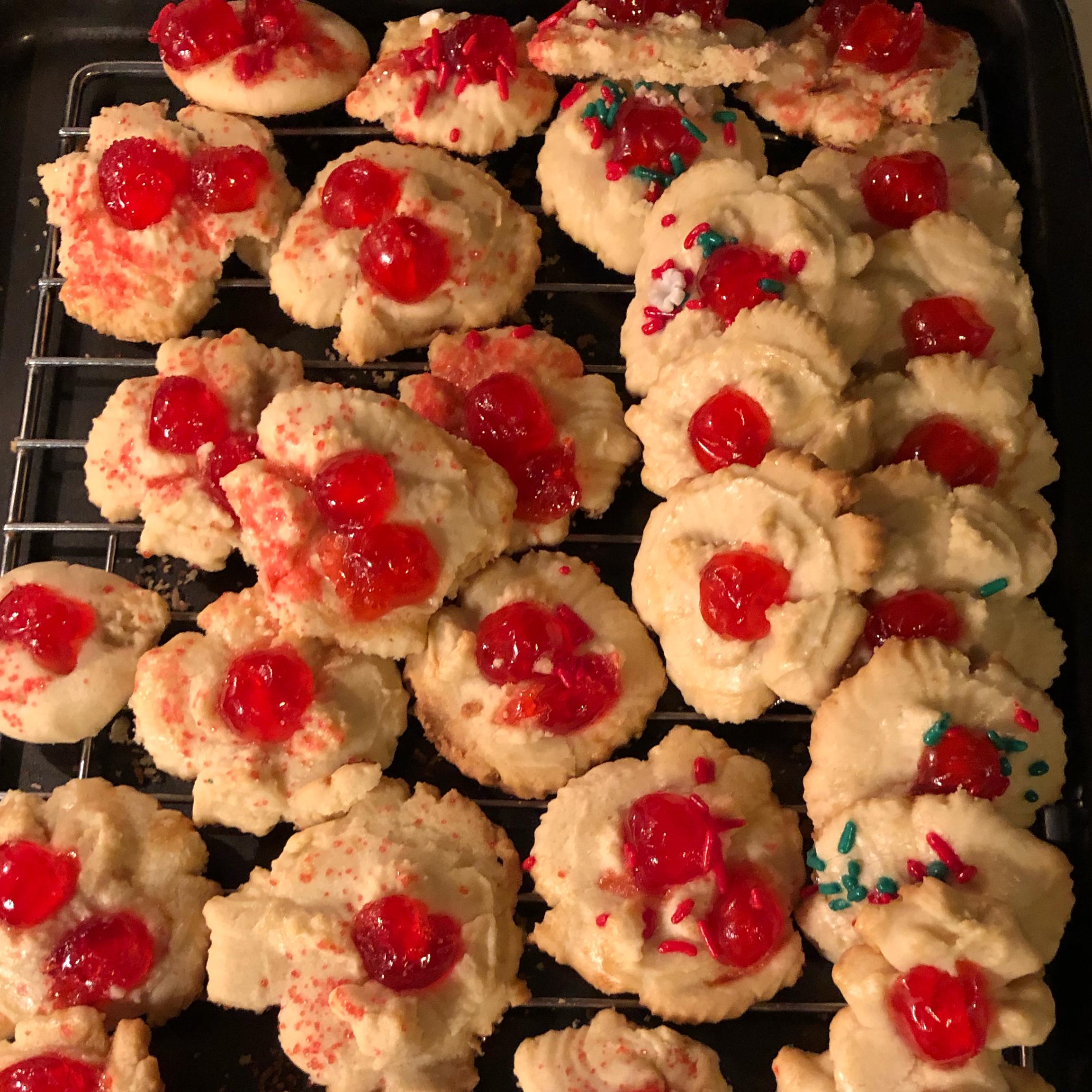 My Mom's Spritz Cookies PKrehl