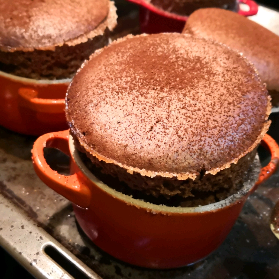 Chef John's Chocolate Souffle ciapearl