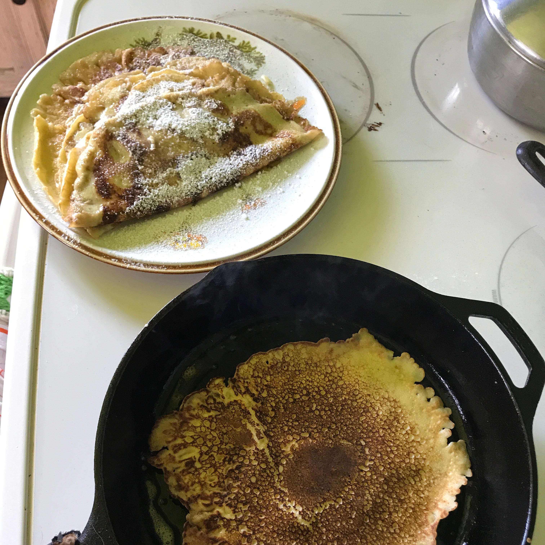 Authentic Swedish Pancakes Mike Scott