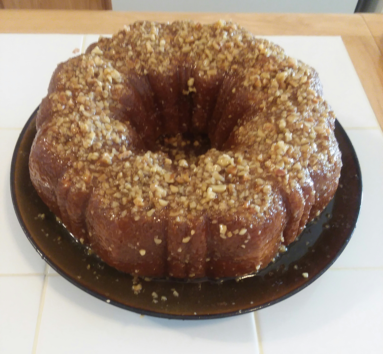 "Golden Rum Cake Silvia ""Xraygirl"" Diaz"
