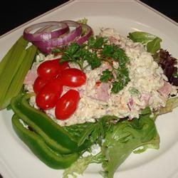 Orzo Ham Salad JimmyandNancy Long