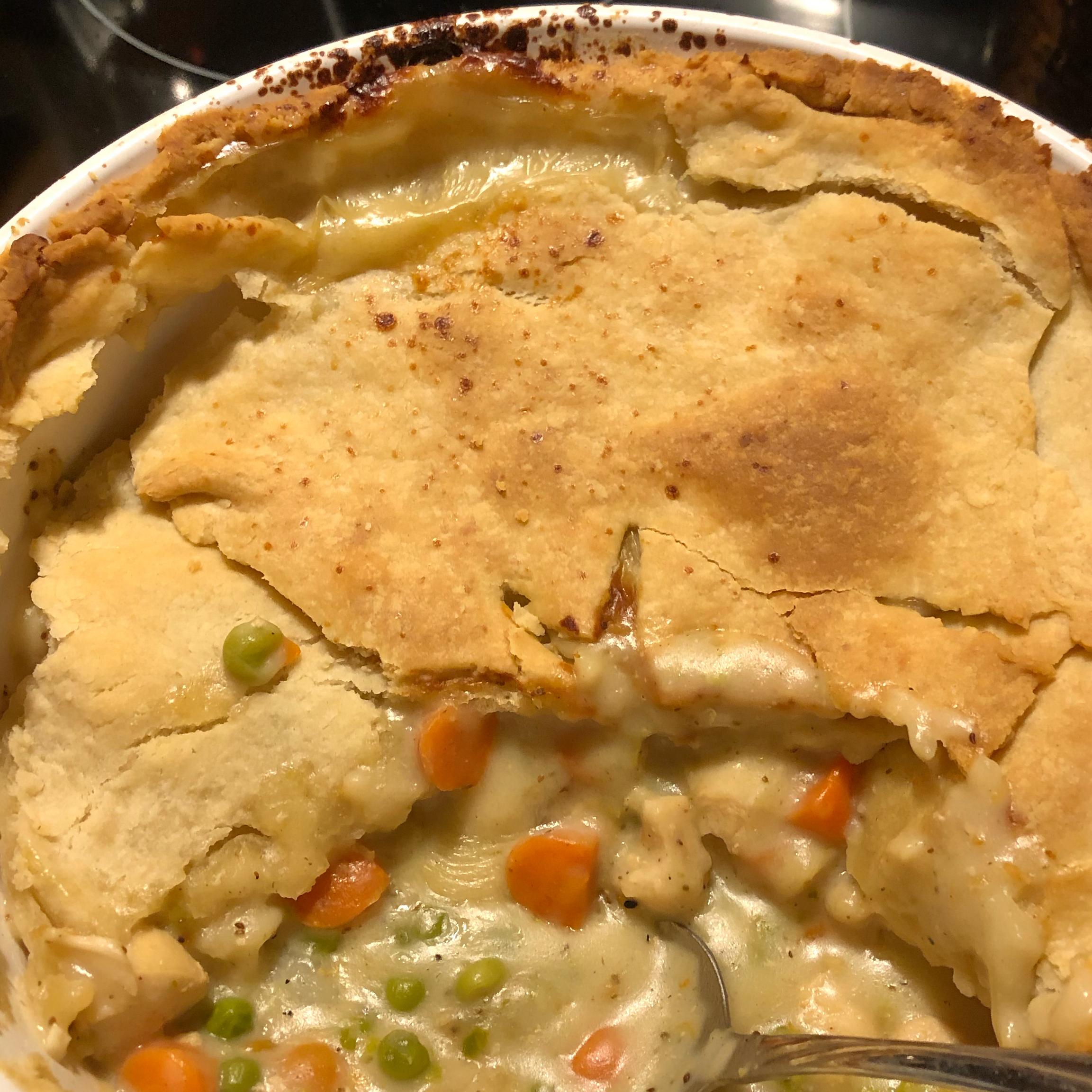 Hot Water Pie Crust I