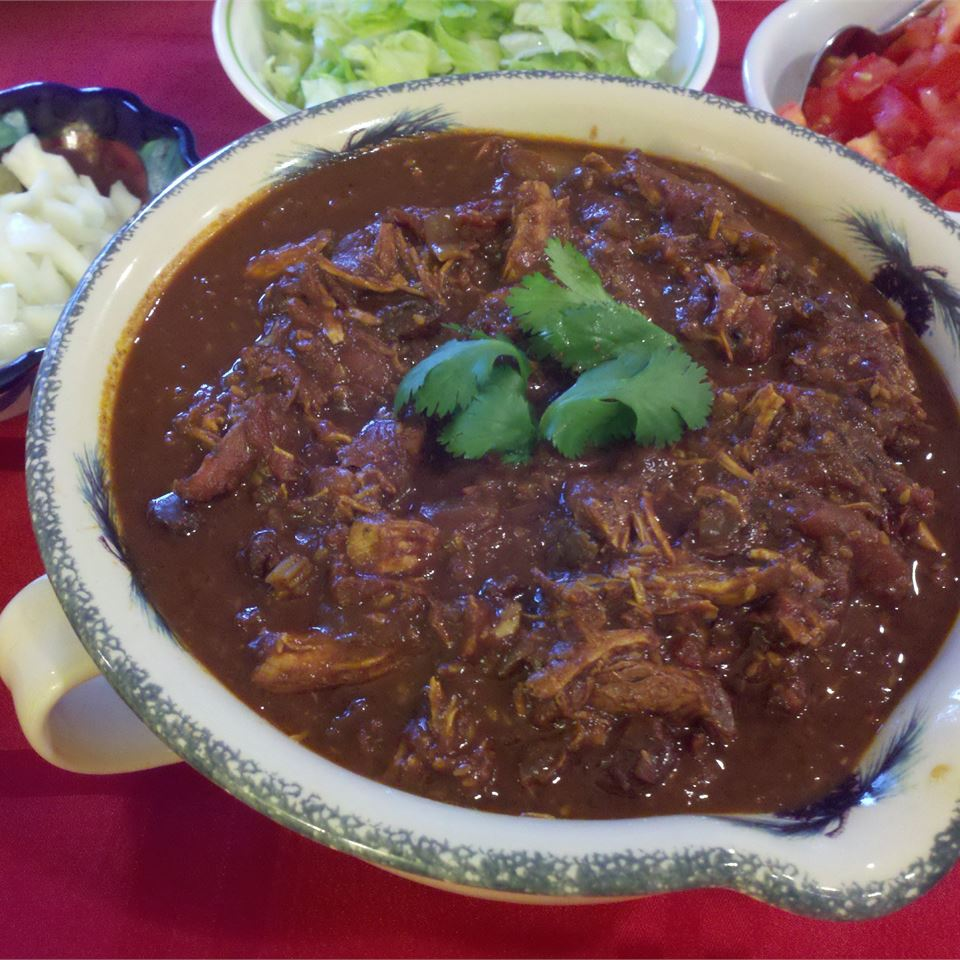 Slow Cooker Chicken Mole Marsha