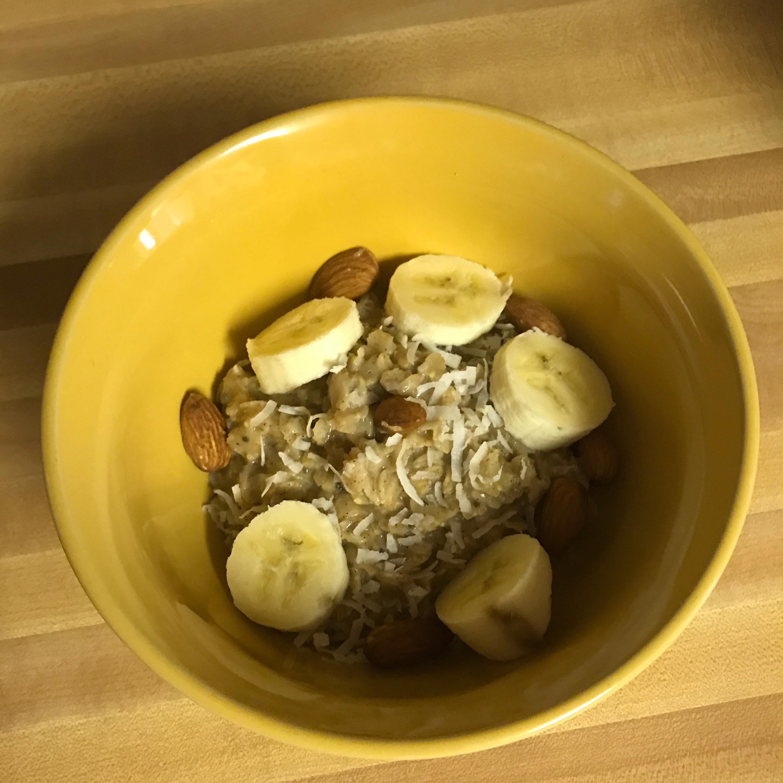 Sweet Coconut Oatmeal Paige