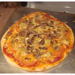 Garlic and Artichoke Pizza xmas1239