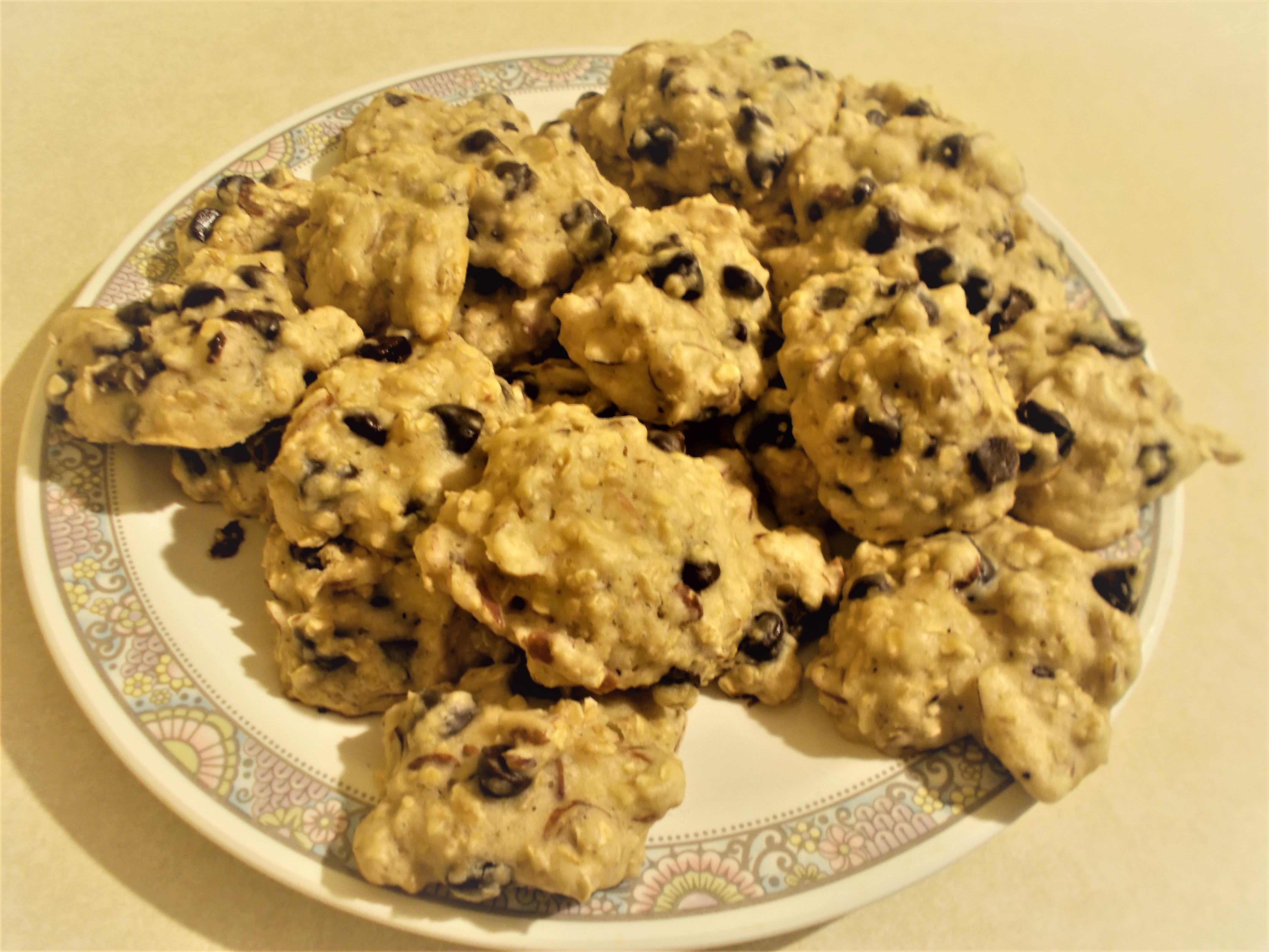 Healthy Honey Breakfast Cookies Lydia
