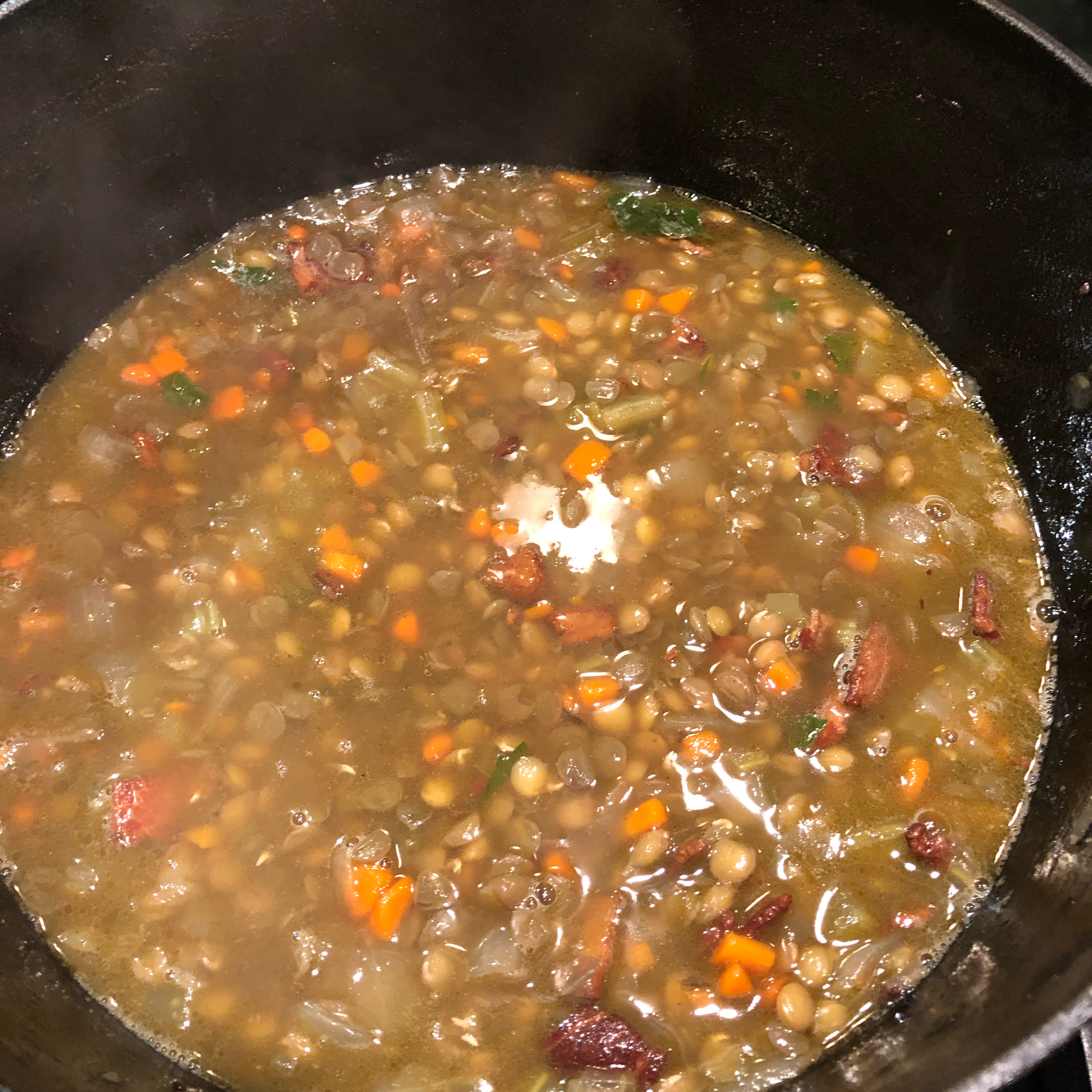 Chef John's Black Lentil Soup Jeanne Summa-Becvar
