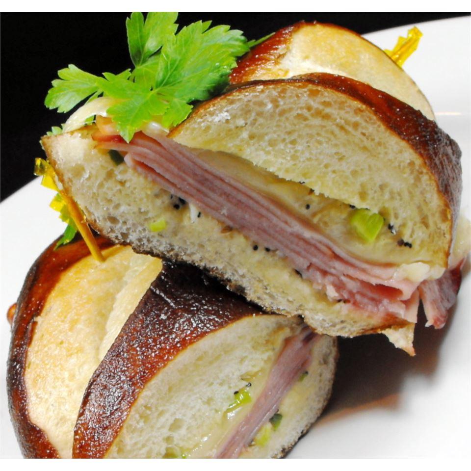 Hot Ham And Cheese Sandwiches Recipe Allrecipes