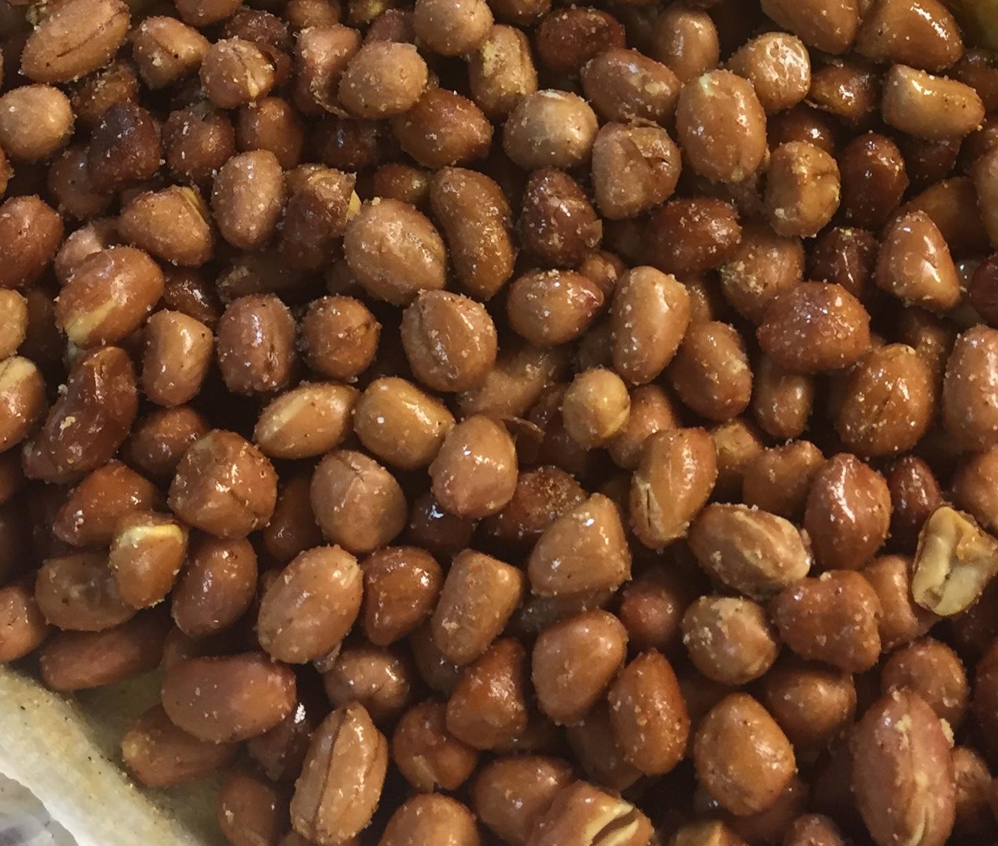 Deep-Fried Peanuts Lisa Shadir