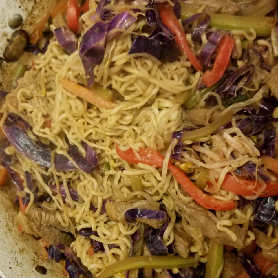 Spicy Thai Steak and Vegetable Stir Fry Yoseph