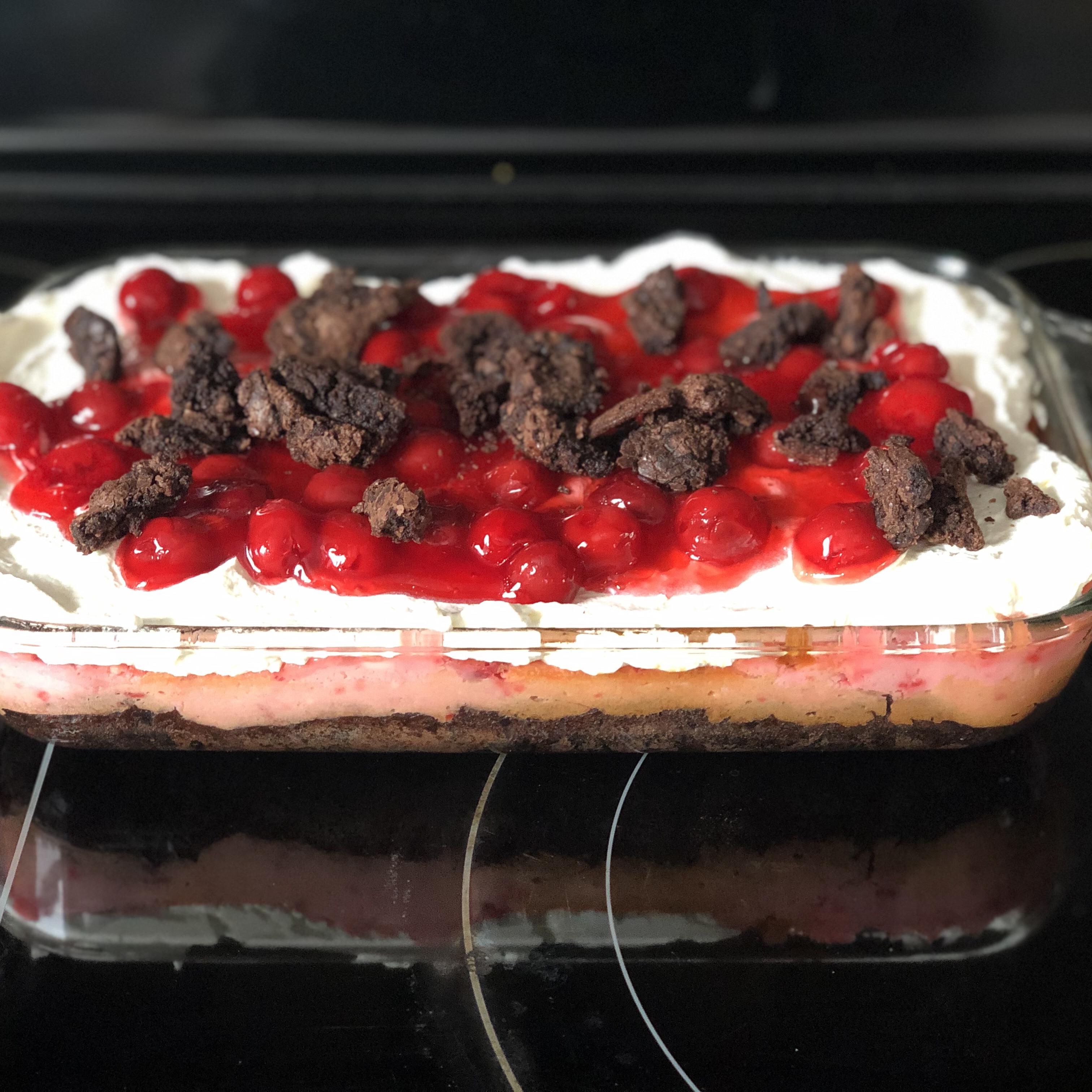 Black Forest Cake Bars