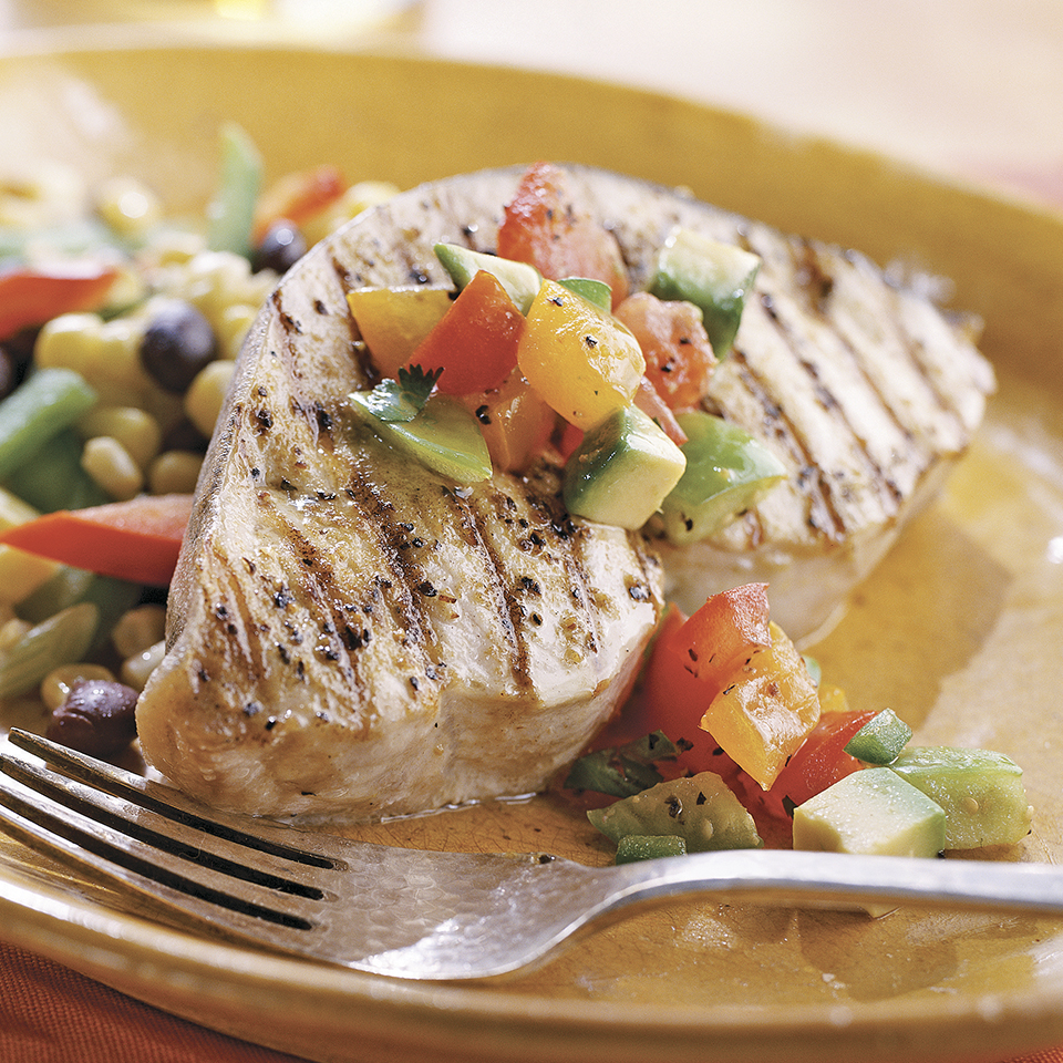 Cuban-Style Swordfish with Fresh Tomato Salsa Trusted Brands