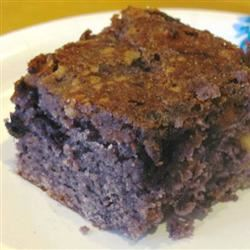Blueberry Brownies KETCHHOT