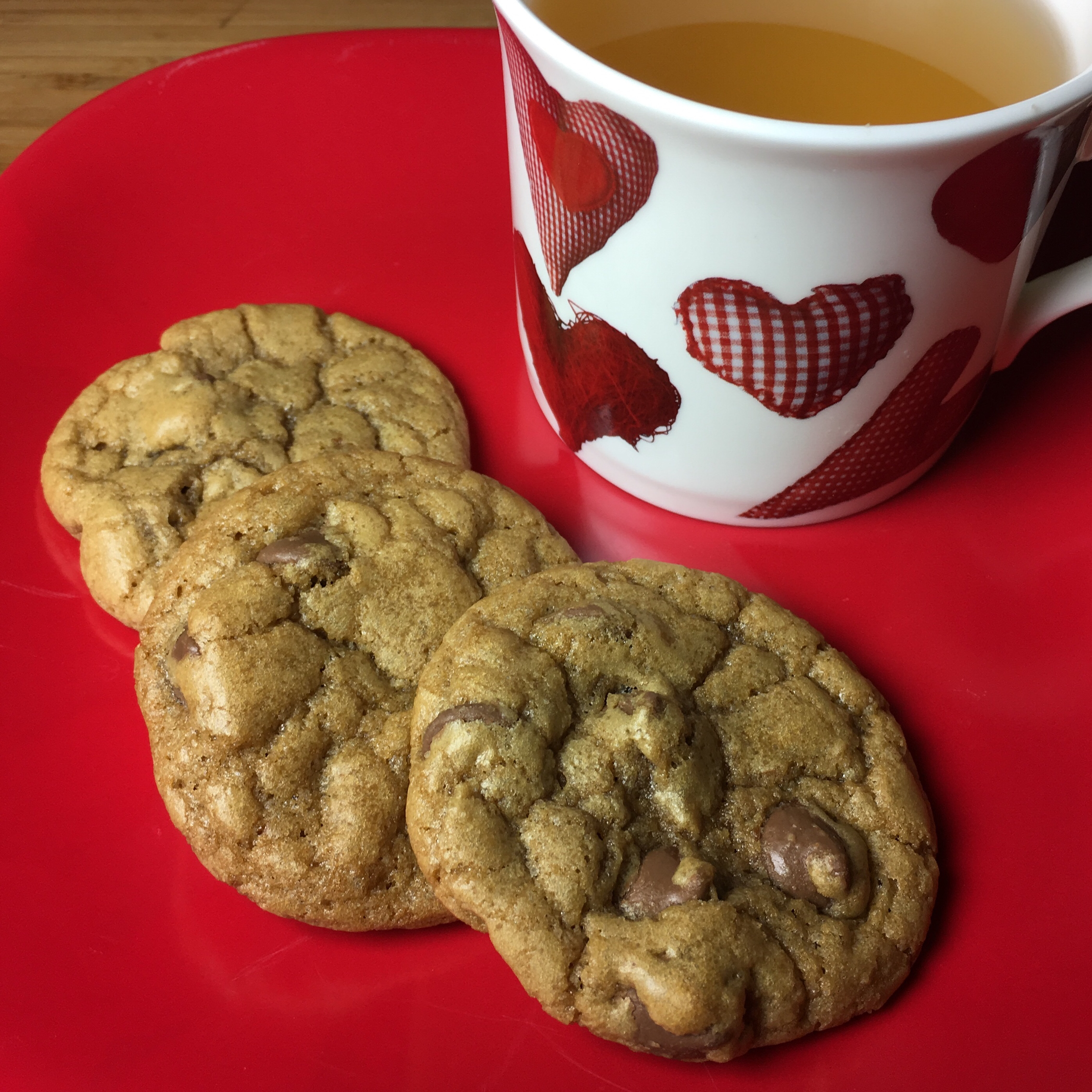 Perfect Fluffy Chocolate Chip Cookies
