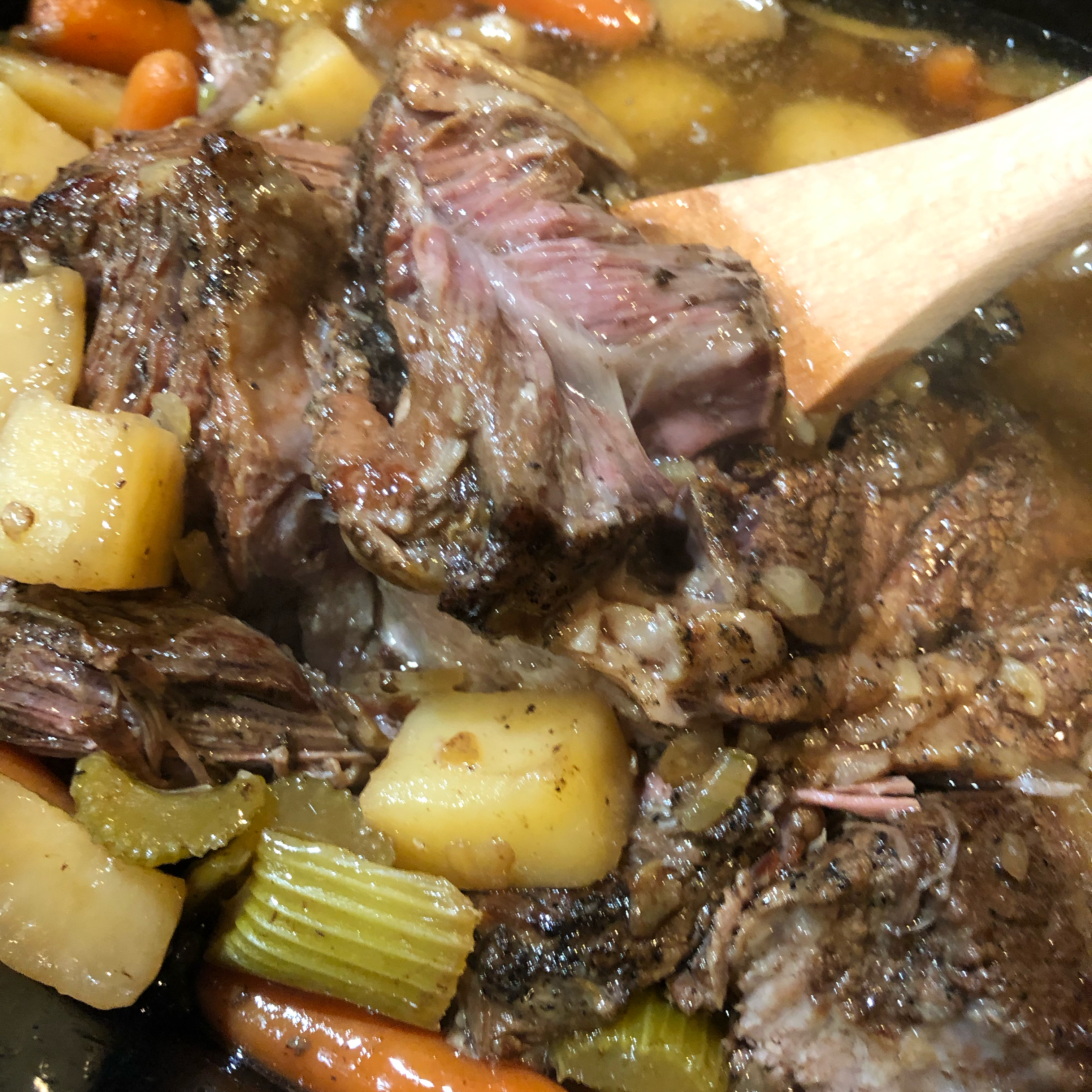 Marie's Easy Slow Cooker Pot Roast