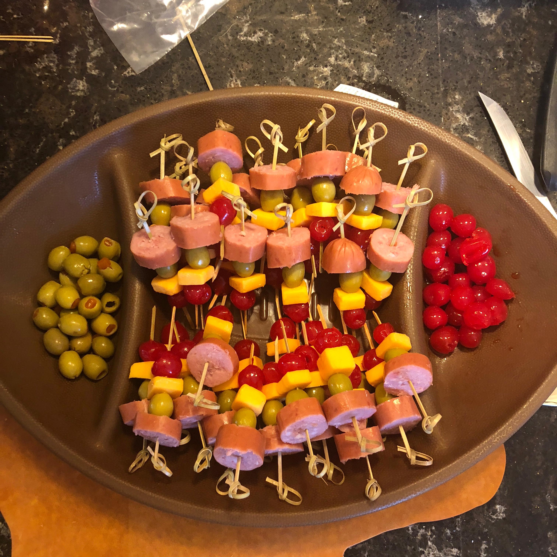 Tasty Toothpick Appetizers Donna Jeannine Heatherly