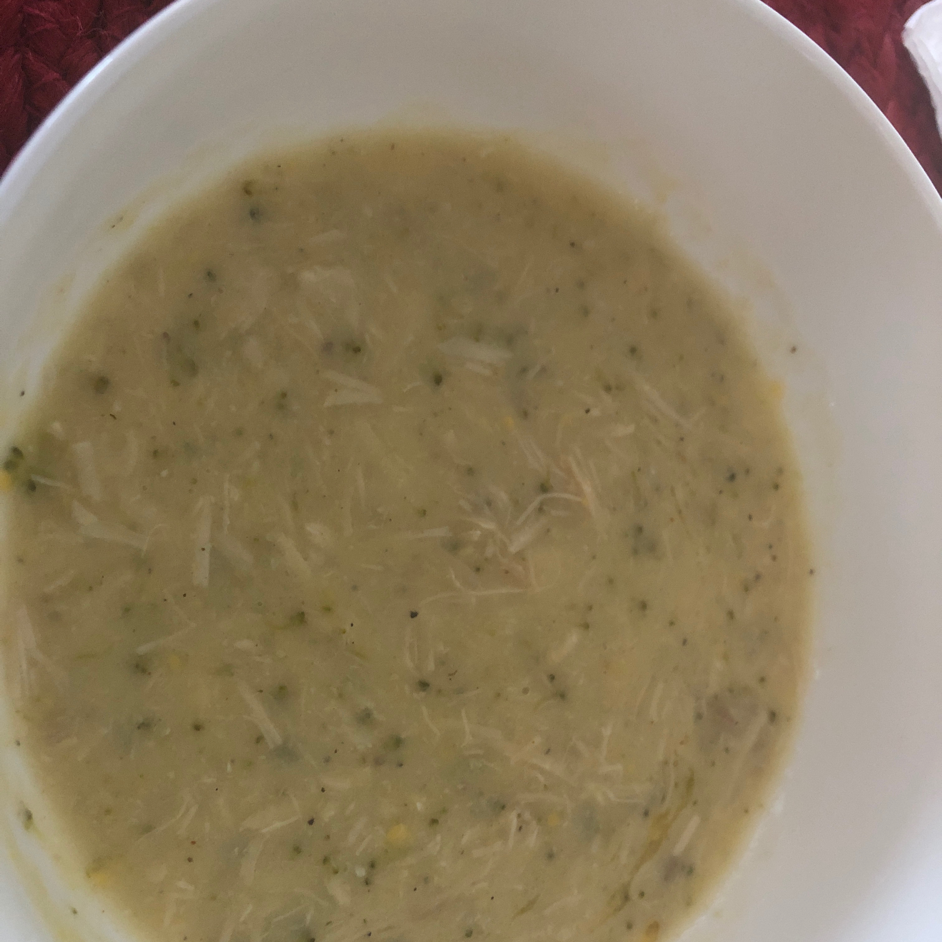 Cheese and Broccoli Chicken Soup