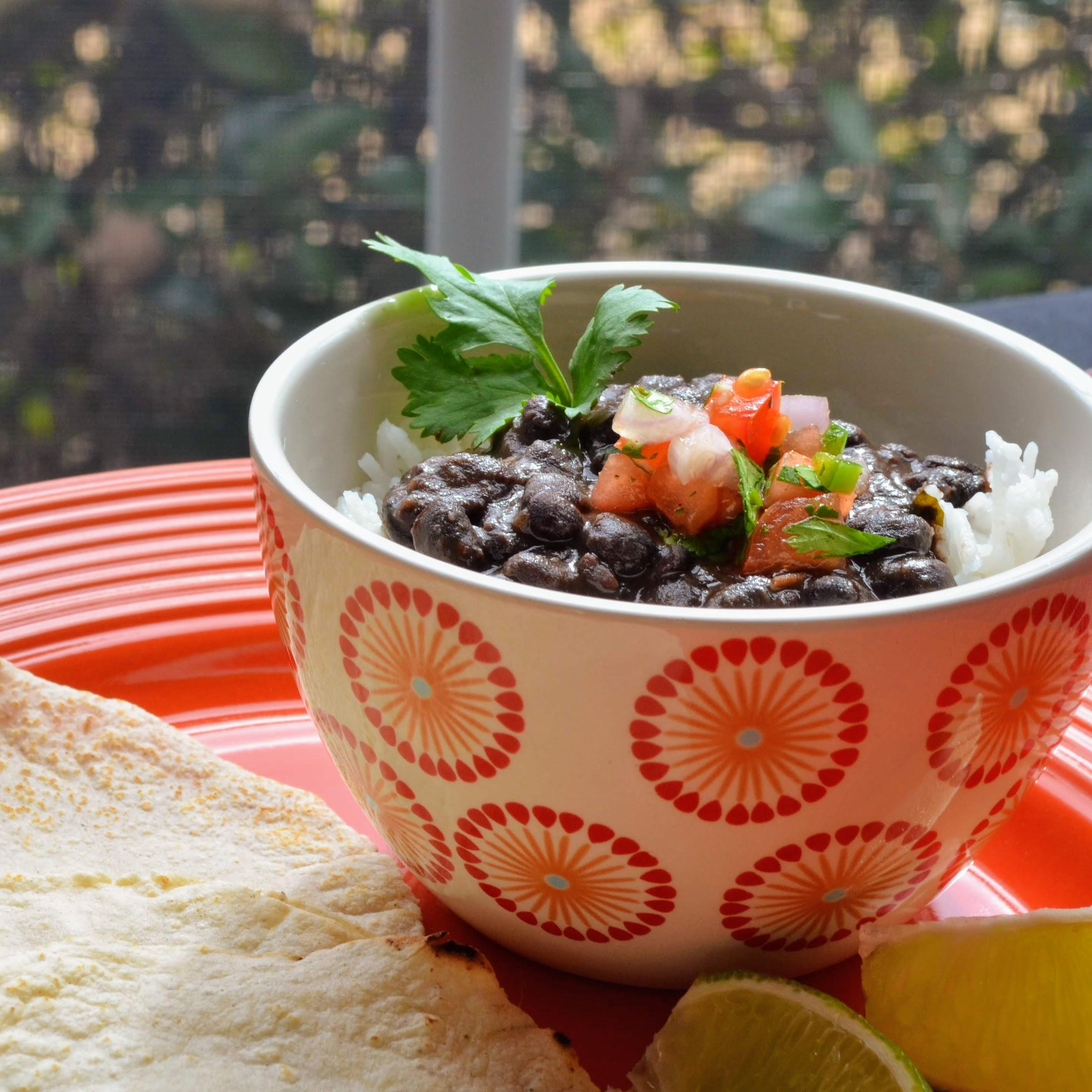 Instant Pot® Spicy Black Bean Soup (Vegan) Kim's Cooking Now