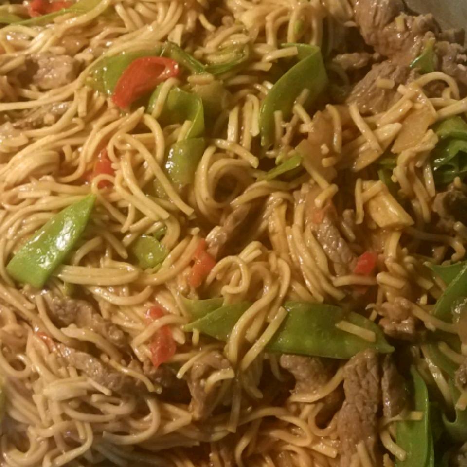 Beef Lo Mein Noodles Joyce Cooper