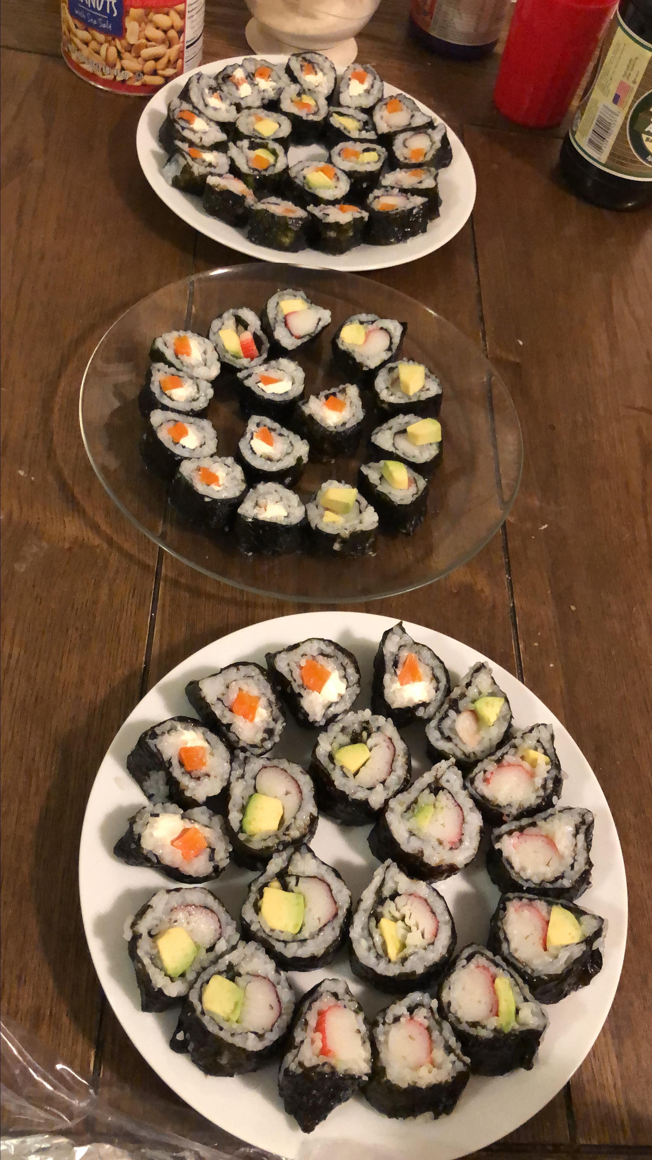Mom's Sushi Rice Alejandra