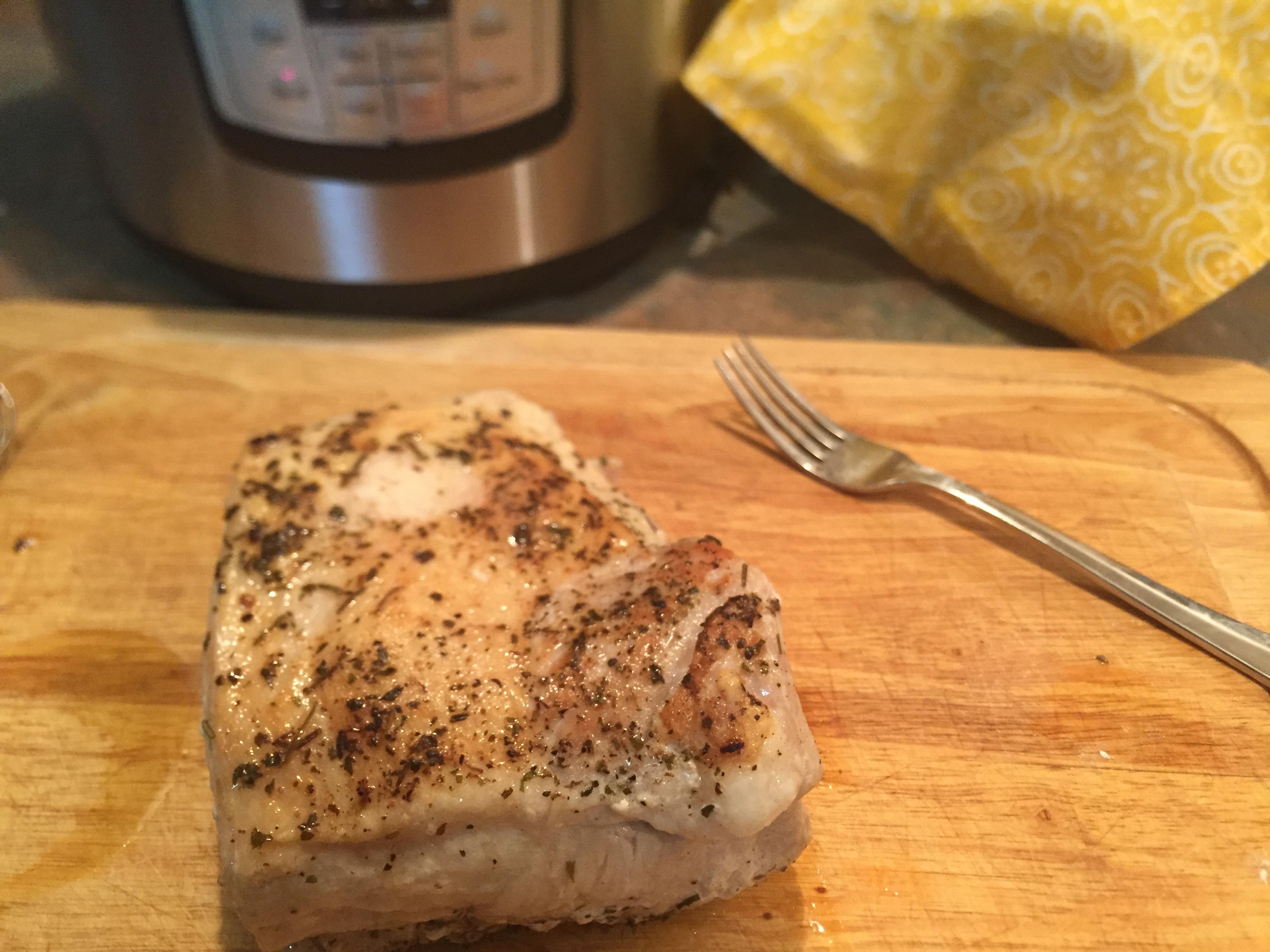Instant Pot® Pork Tenderloin tcasa