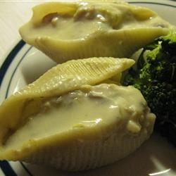 Chicken Stuffed Shells WeezaG