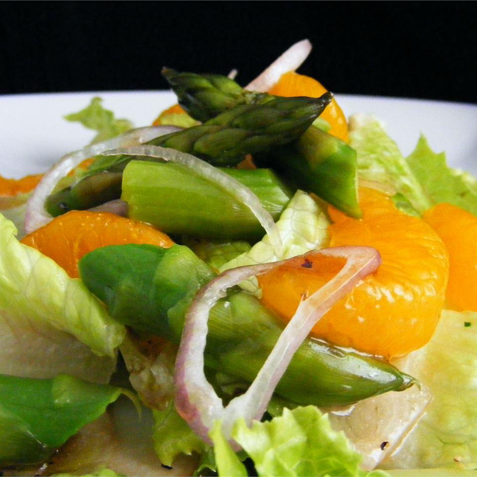 Asparagus, Orange and Endive Salad