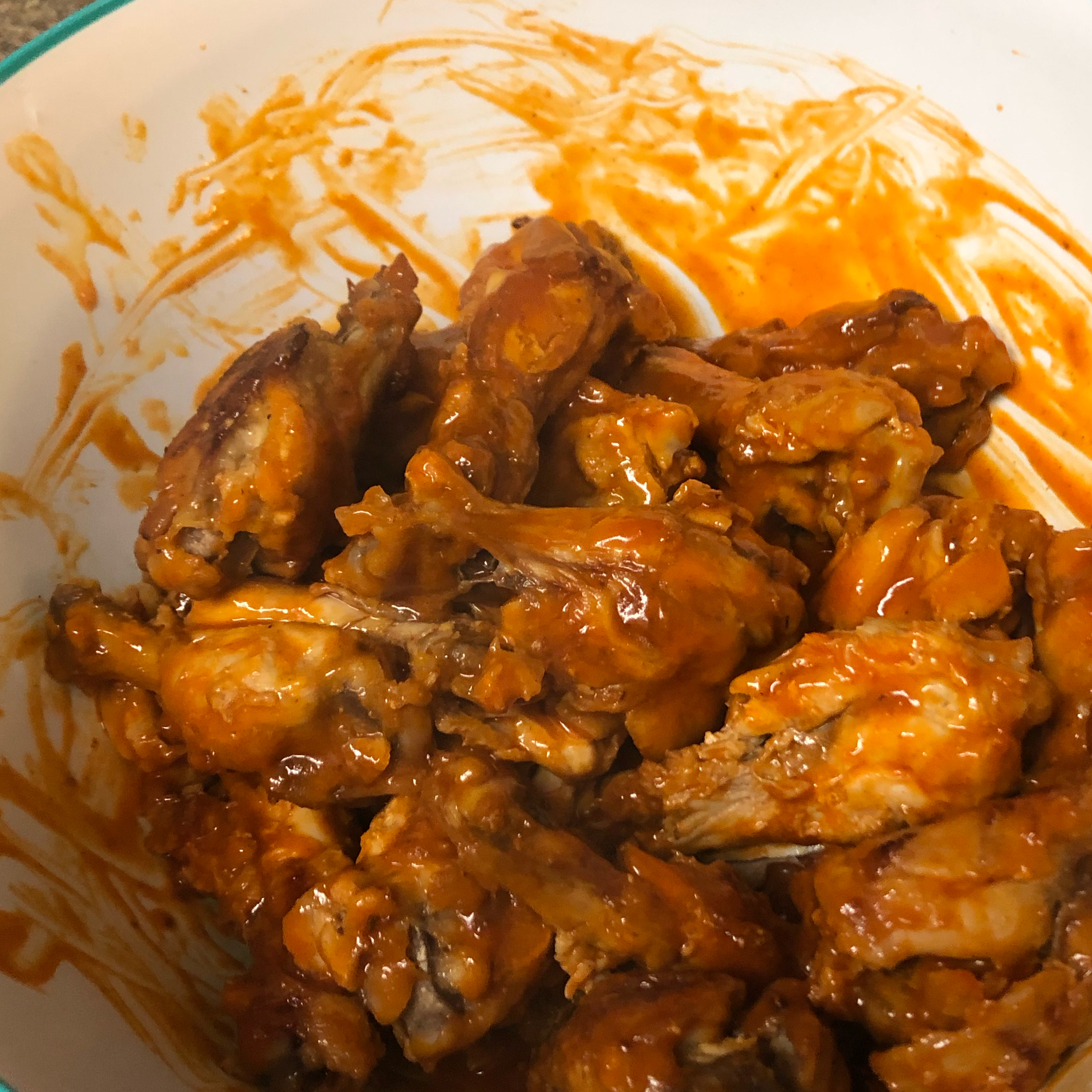 Awesome Slow Cooker Buffalo Wings Ashley Thomas