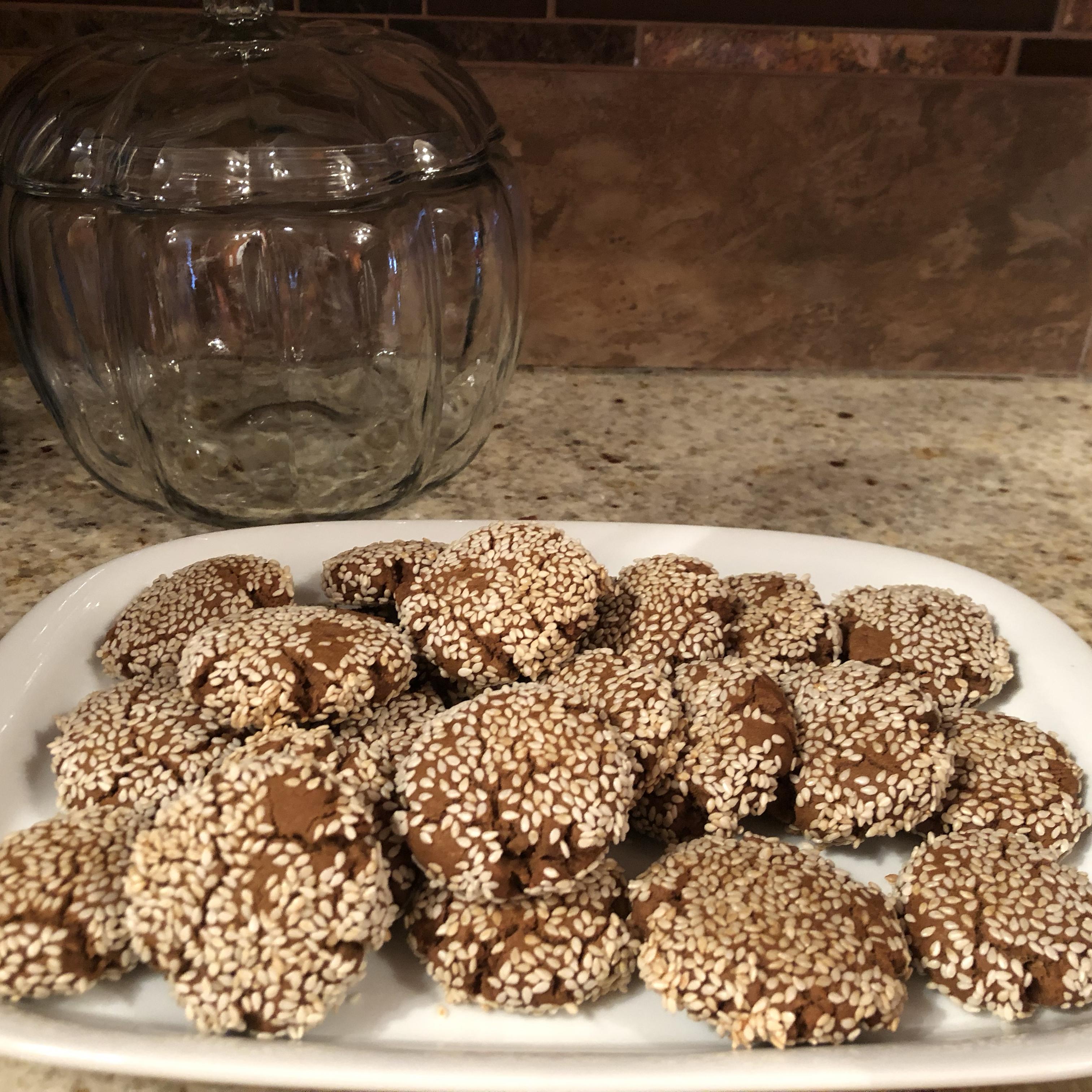 Vegan Tahini Cookies Louise Butterworth