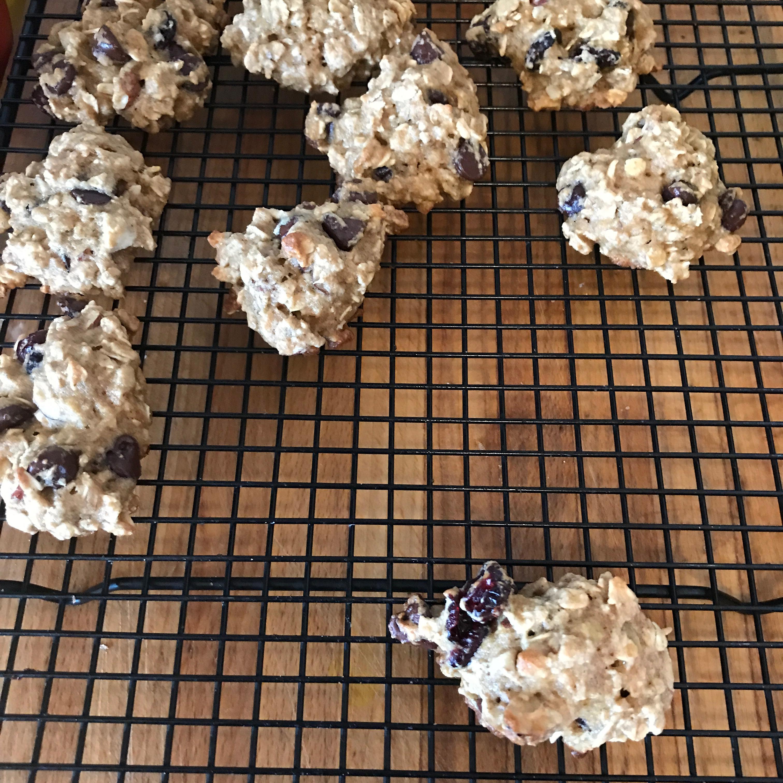 Low Fat Breakfast Cookies