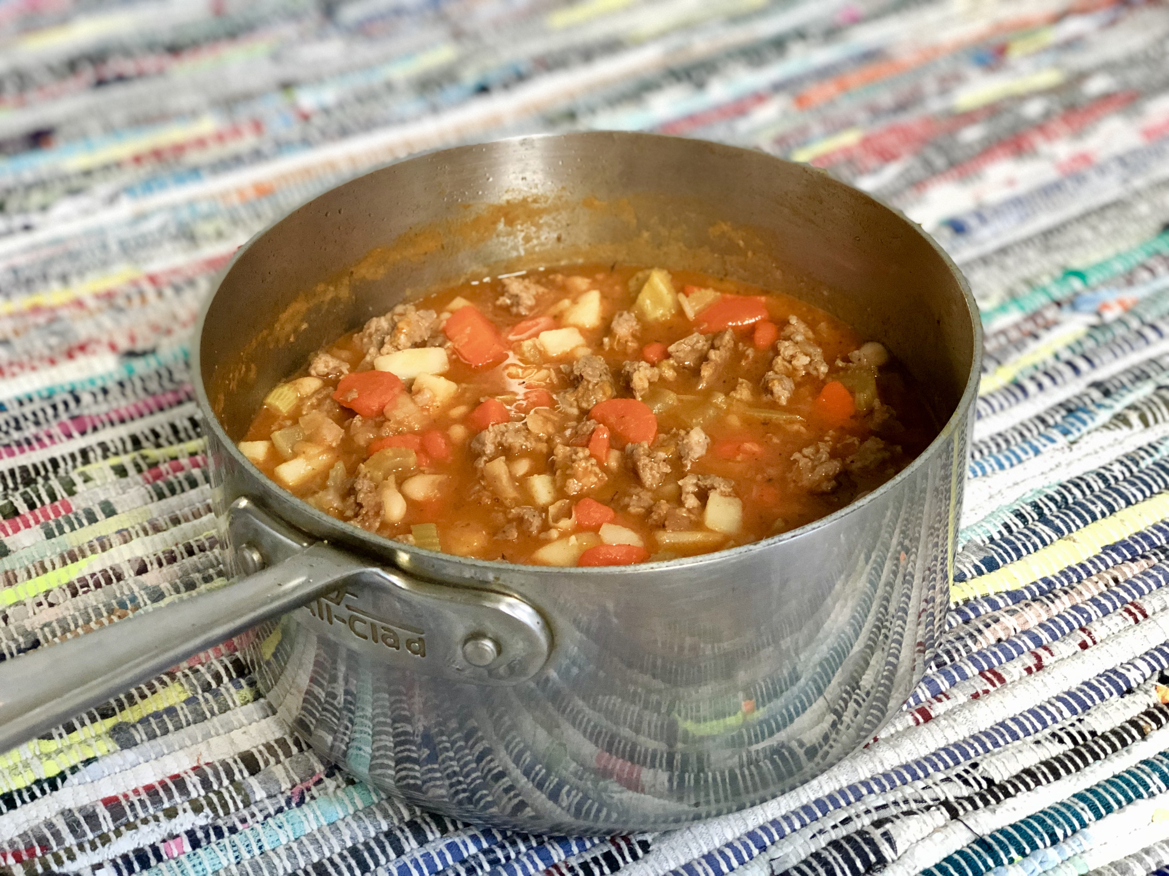 Hearty Italian Sausage Soup Diana Moutsopoulos