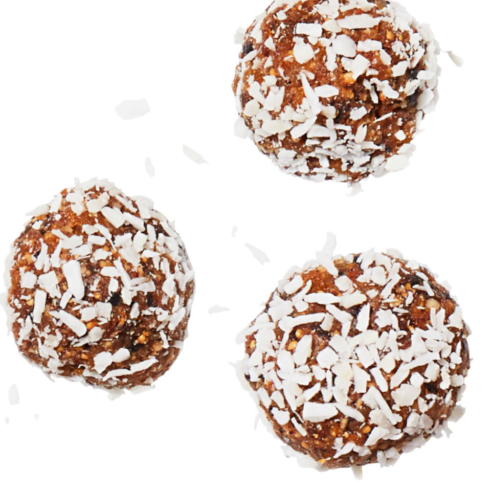 Make a big batch of these no-bake energy balls to keep on hand when hunger strikes or you need a healthy pick-me-up.