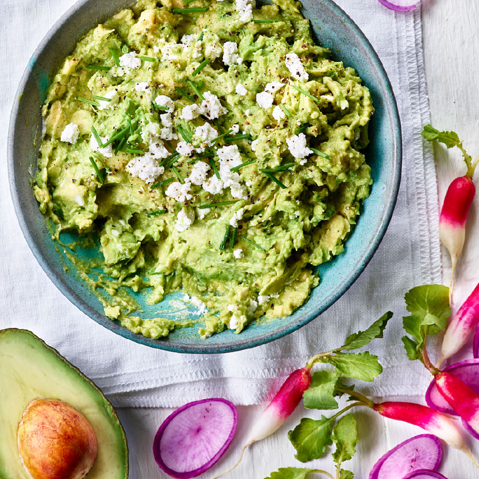 Goat Cheese & Chive Guacamole Trusted Brands