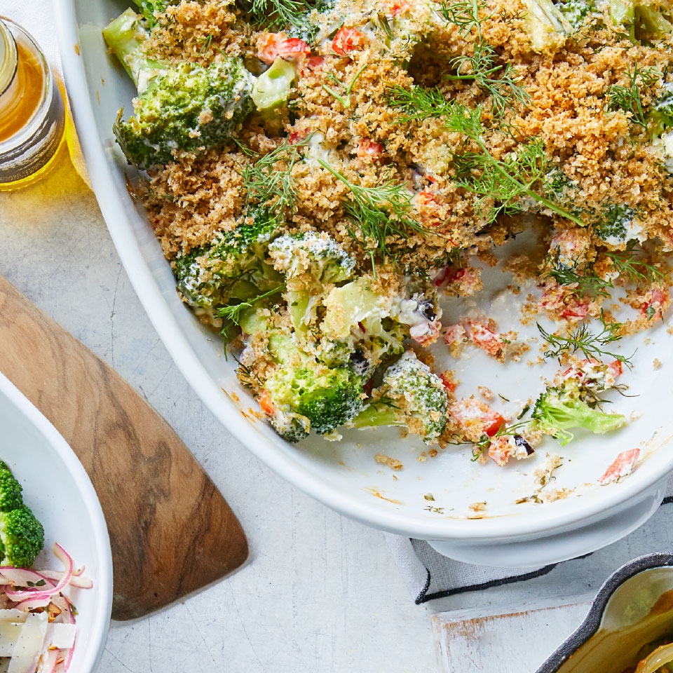 Greek Broccoli Gratin Karen Rankin