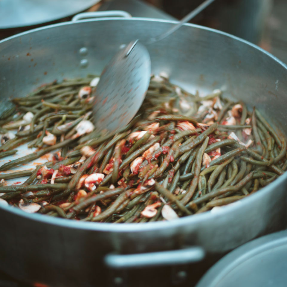This versatile and easy side dish is a tasty way to showcase green beans. We boil the beans briefly before sautéing for perfectly crisp-tender vegetables that don't get mushy.
