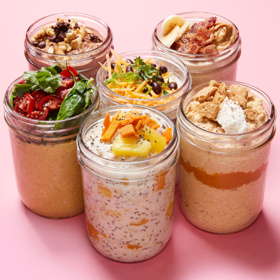 Thai Peanut Overnight Oats