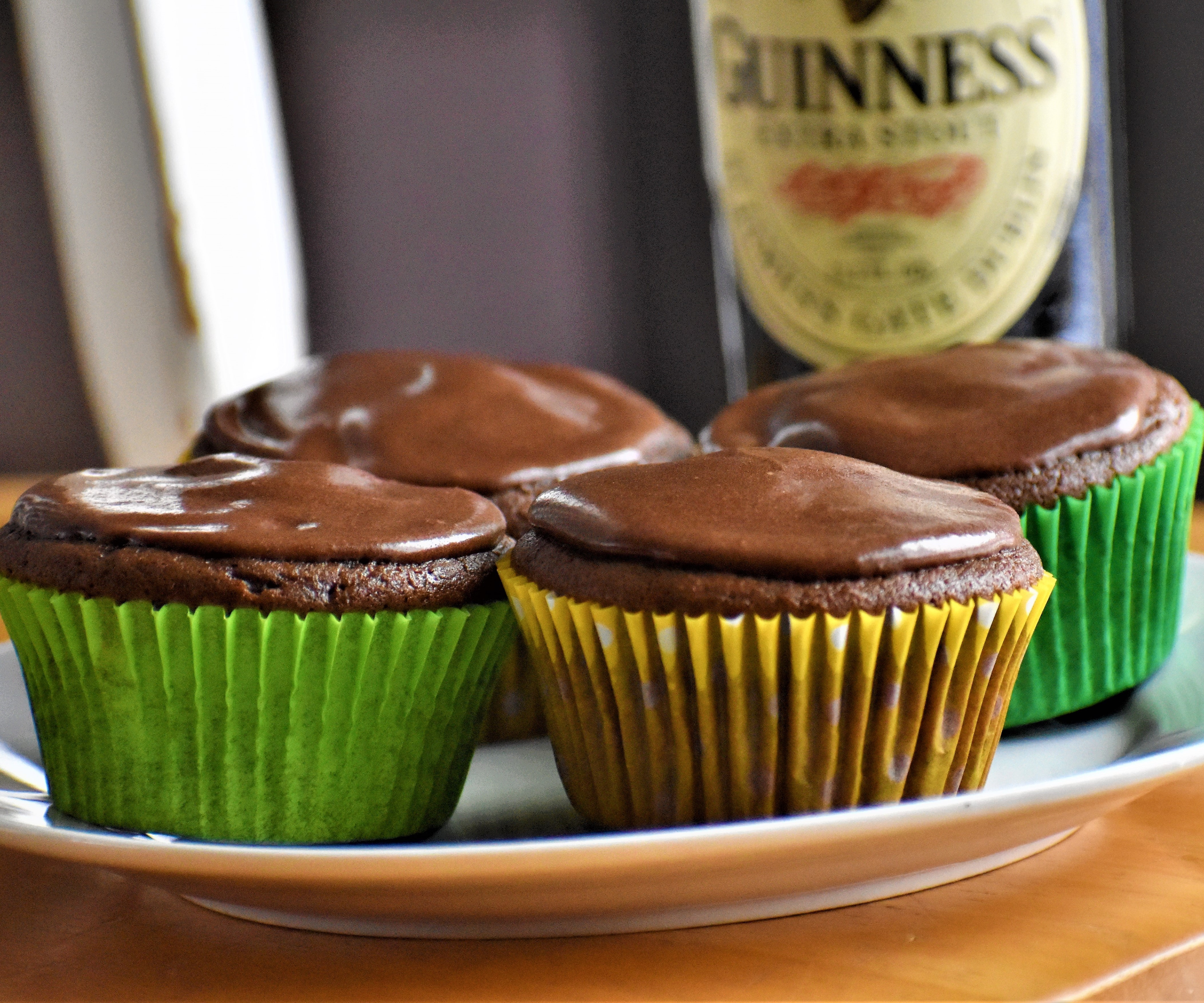 Guinness® Cupcakes with Guinness® Frosting