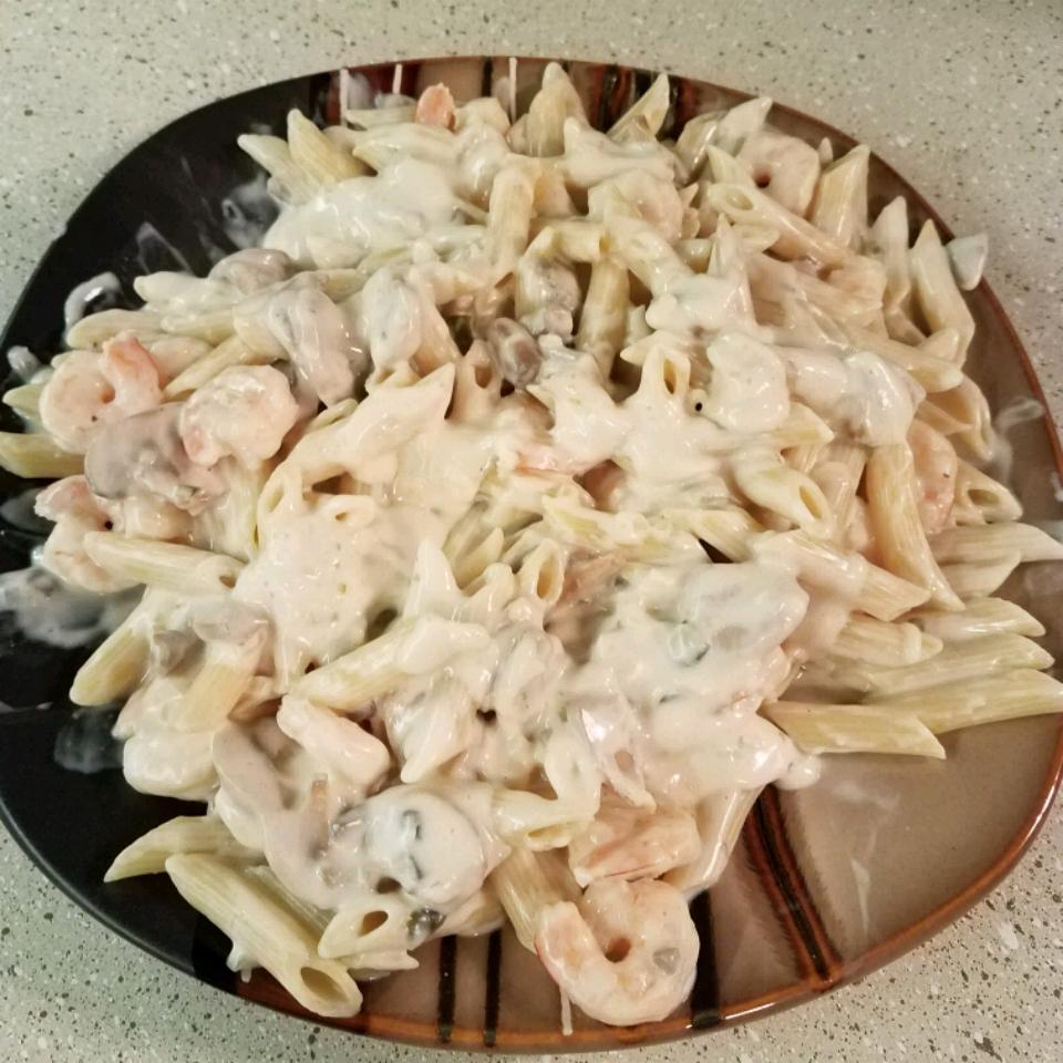 Angel Shrimp Pasta Tara