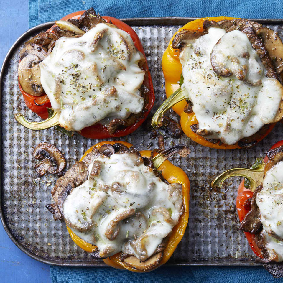 Philly Cheesesteak Stuffed Peppers Trusted Brands