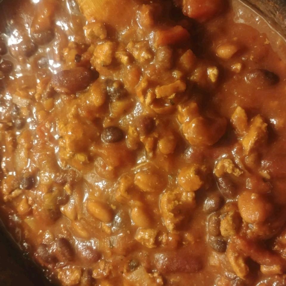 Slow Cooker 3-Bean Chili John Doyle