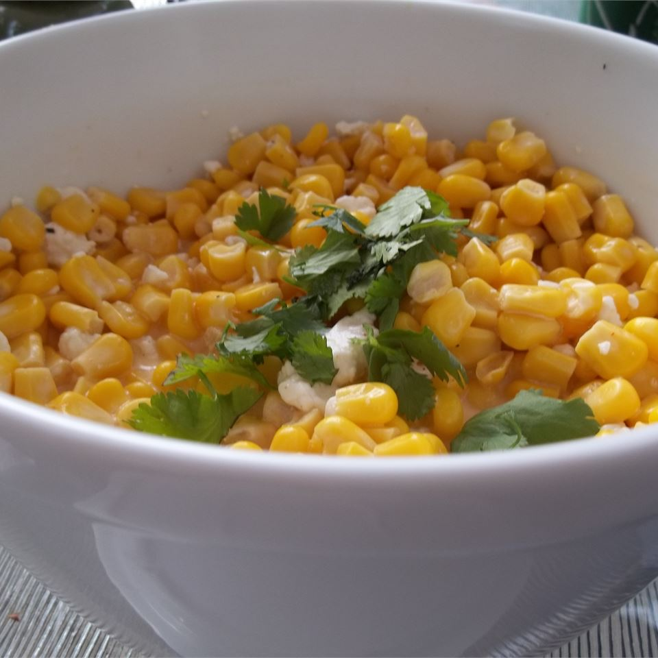 Mexican Street Vendor Style Corn Salad