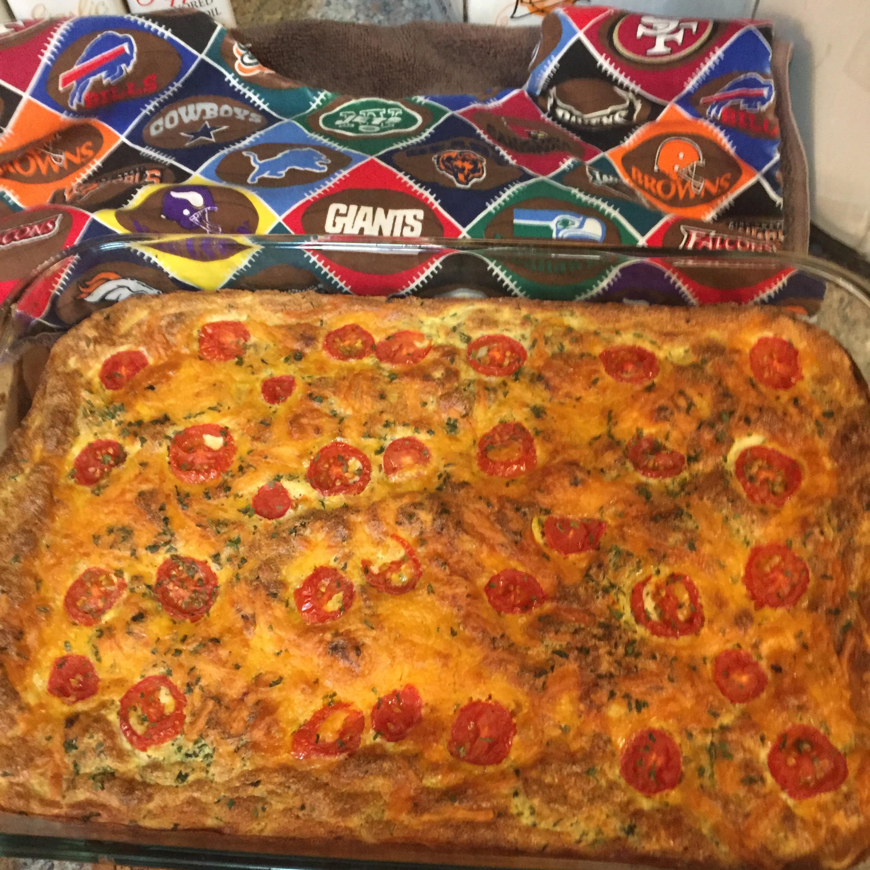 Gluten-Free Impossibly Easy Breakfast Bake Gaetano
