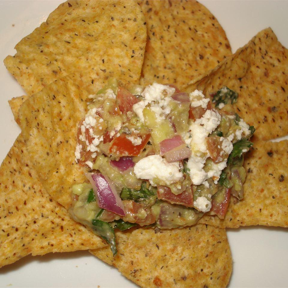Avocado Feta Salsa veggiegreengirl