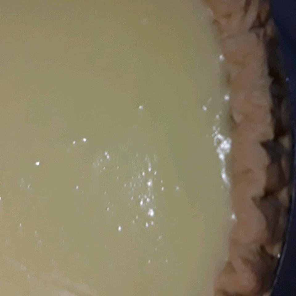 Sour Cream Lemon Pie