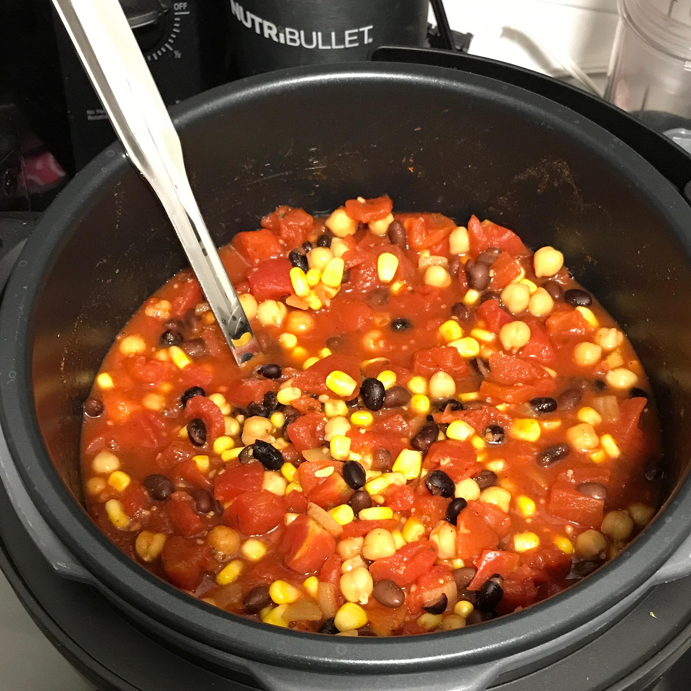 Quick Veggie Chili Brian Troiano